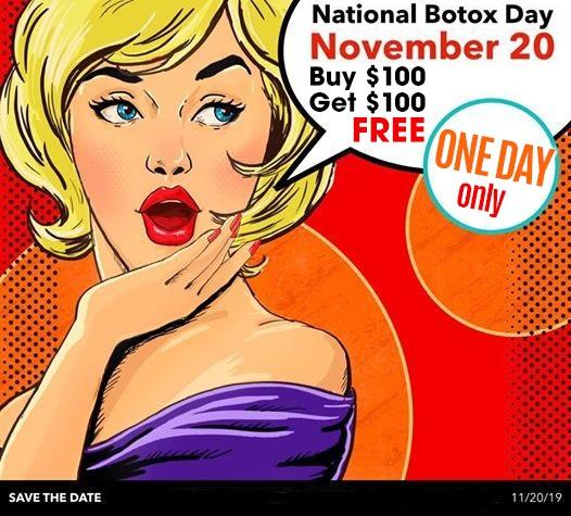 $100 off BOTOX